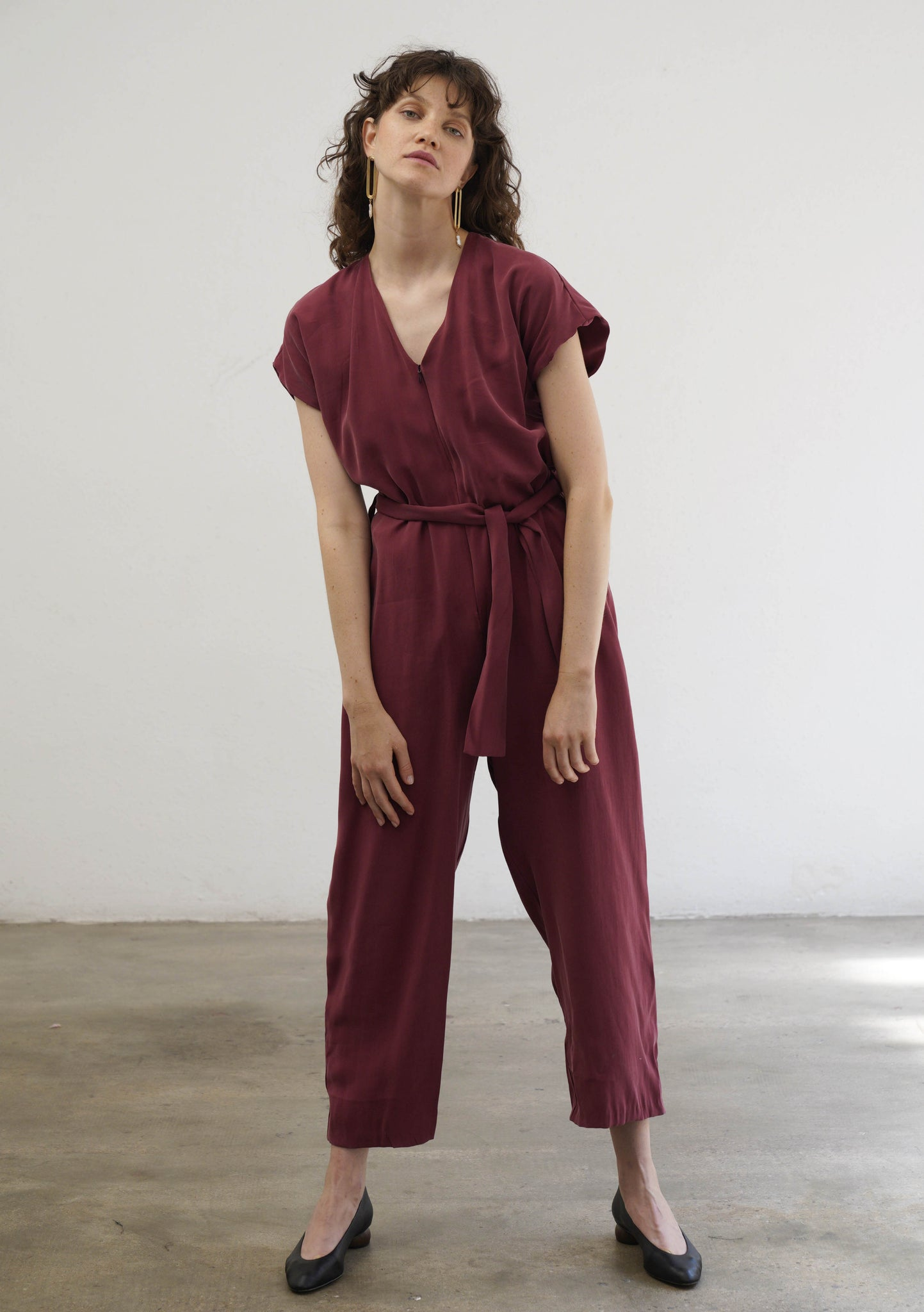 CRANBERRY JUMPSUIT