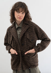 WOOL JACKET MOSAIC