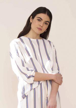 striped blouse  STRIPED BLOUSE