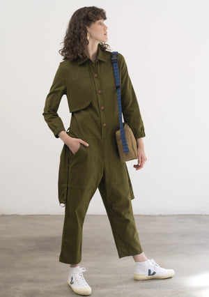 GREEN LIGHT JUMPSUIT