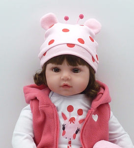 Silicone Reborn Baby Doll adorable Lifelike