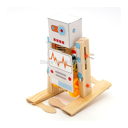 Physical Science Experiment Kits Creative Robot Set Educational