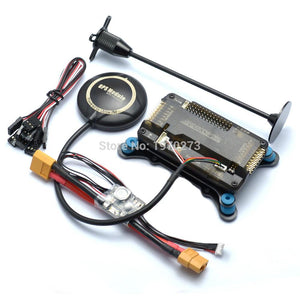 F450 450 Quadcopter MultiCopter Frame kit APM 2.8 w/ Shock Absorber 7M GPS Power Module 2212 Motor 30A Simonk ESC