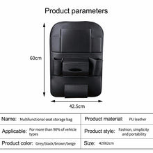 Load image into Gallery viewer, Car Seat Back Storage Bag Box Multi-pocket