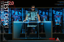 Load image into Gallery viewer, DIY 1/6 Iron ManTony Acrylic Holographic Workshop Scene Test Desk 2.0 Figure Accessory