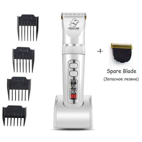 Clippers For Pets LCD Screen