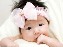 Load image into Gallery viewer, newborn fabric flowers for headbands DIY