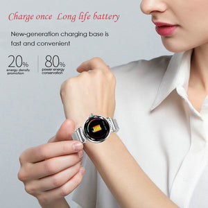 Watch Women Blood Pressure Heart Rate Monitoring