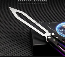 Load image into Gallery viewer, Training  Butterfly  Knife Camping Huniting