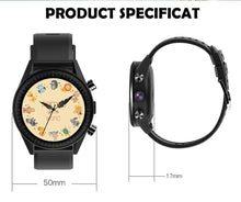 Load image into Gallery viewer, 4G Smart Watch Men Android 7.1.1 Quad Core GPS 5MP Camera