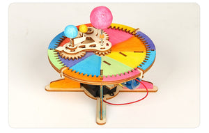 Toys Kit Three Planets Moving Model Physics Learning
