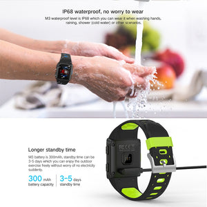 Smart Watch GPS IP68 Waterproof Heart Rate Monitoring