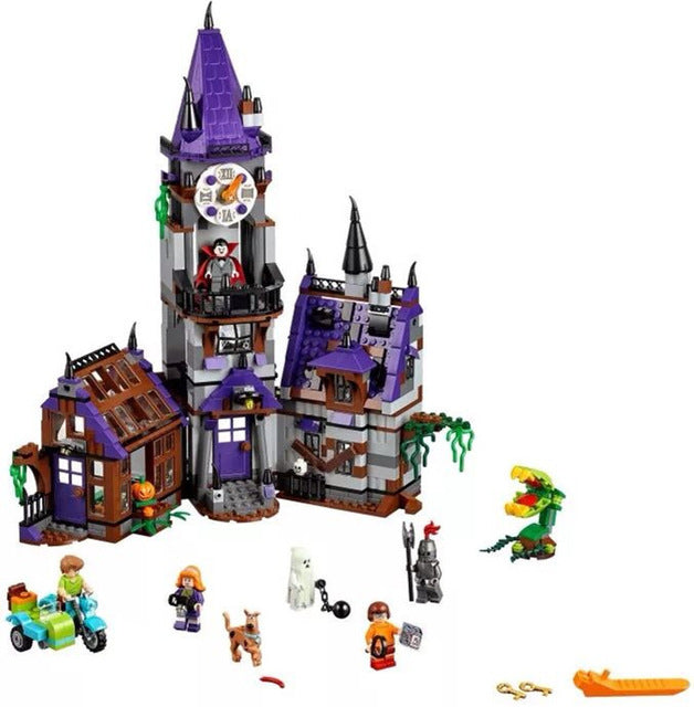 Legoingly Scooby Doo Figures Mystery Mansion 75904 Building, Educational