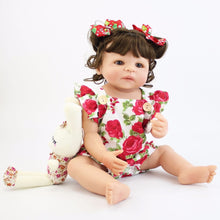 Load image into Gallery viewer, 55cm Full Silicone Body Reborn Baby Doll Toy