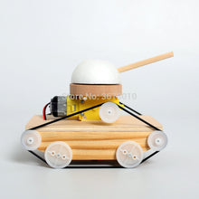 Load image into Gallery viewer, DIY Wooden Handmade Electric Tank Model Kits science