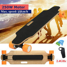 Load image into Gallery viewer, 15km/h Electric Skateboard Scooter Remote Control Longboard