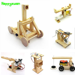Happyxuan STEM Education Kits DIY Children Science Project Discovery