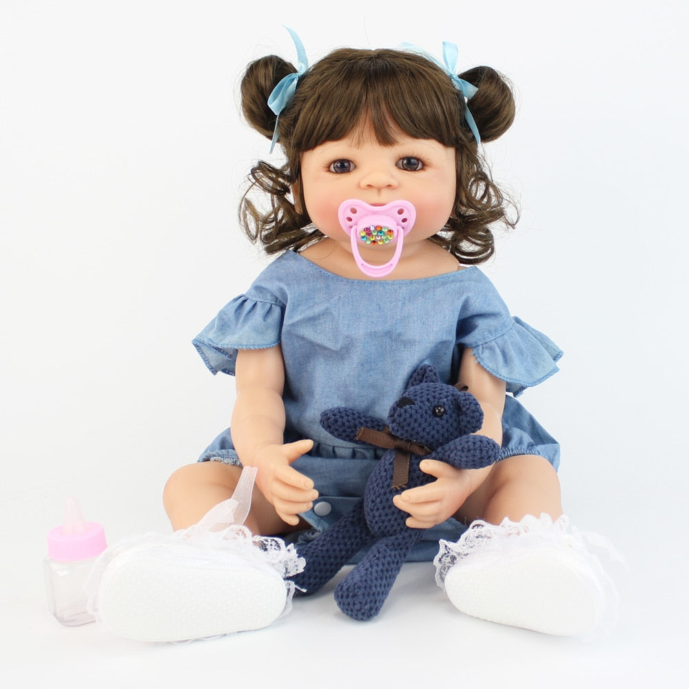 Silicone Reborn Baby Doll Toy