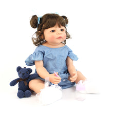 Load image into Gallery viewer, Silicone Reborn Baby Doll Toy