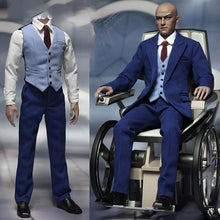Load image into Gallery viewer, 1/6 action figure clothing set Professor Blue Gentleman Mens Suit Set F 12""