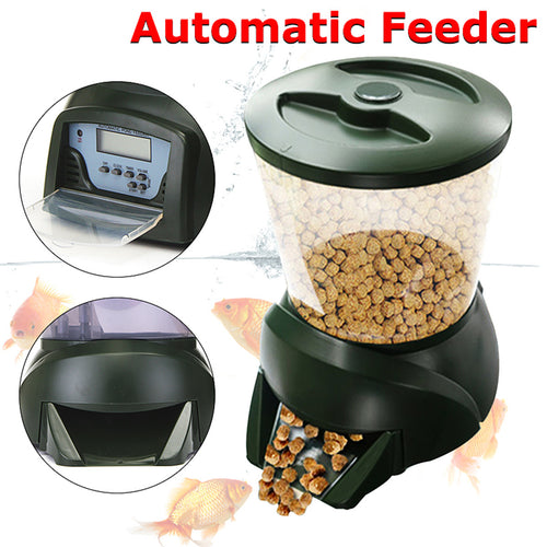 Fish Tank Food Hopper Digital Automatic