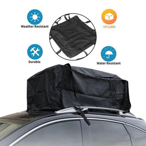 Car Waterproof Cargo Roof Bag With Straps