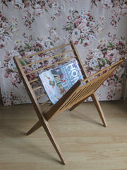 Wooden magazine rack -  SOLD OUT