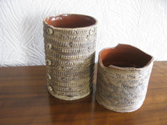 NEW textured studio pottery from Red Cave