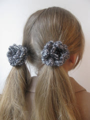 Corsage -HAIRBAND-Charcoal tweed