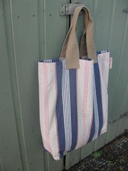 Deck chair striped TOTE bag-SOLD OUT