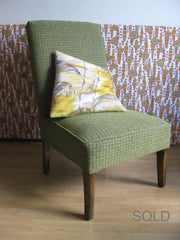 Vintage little green chair- SOLD