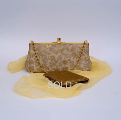 Vintage gold evening bag--- Sold.
