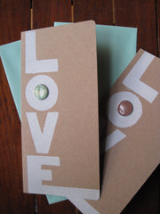 LOVE cards-Handmade greeting cards.
