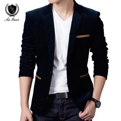 Terno 2 Single Button Luxury Men's Blazer (XS - 2XL)