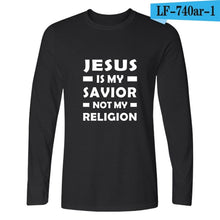I Love Jesus / Jesus is Coming Soon- Long Sleeve T Shirt Different Colors (S - 3XL)