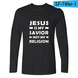 I Love Jesus Christian Long Sleeve T Shirt