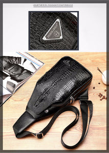 Alligator Pattern Crossbody Bags