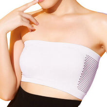 Women Breathable Strapless Exercise Bra /Crop Top