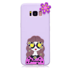 Soft Silicone Case for Samsung Galaxy S8 S8 Plus 3D