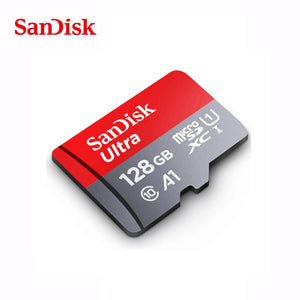 SanDisk microsd memory Cards: Available Sizes: 16gb 32gb 64gb 128gb, 200gb & 256gb