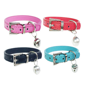 Adjustable Bell Dog Collar For Small or Medium Sized Dogs
