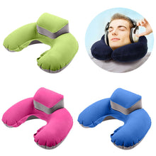 Comfortable Blow Up/ Inflatable Travel Pillow
