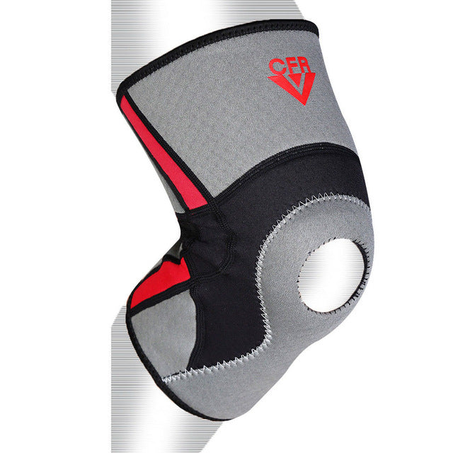Grey Elastic Knee Support Brace (S - 2XL)