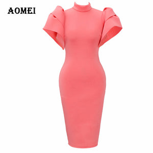 Simple Cloak Pencil Dress (S - XL)