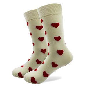 5 Pairs Crazy/ Fun/ Happy/Colorful Socks - Heart & Arrows