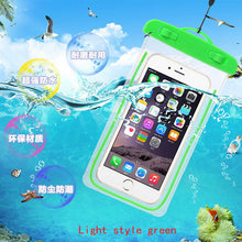 Luminous Water Proof Diving Bags HTC Desire 620 620G / 820 Mini D820mu