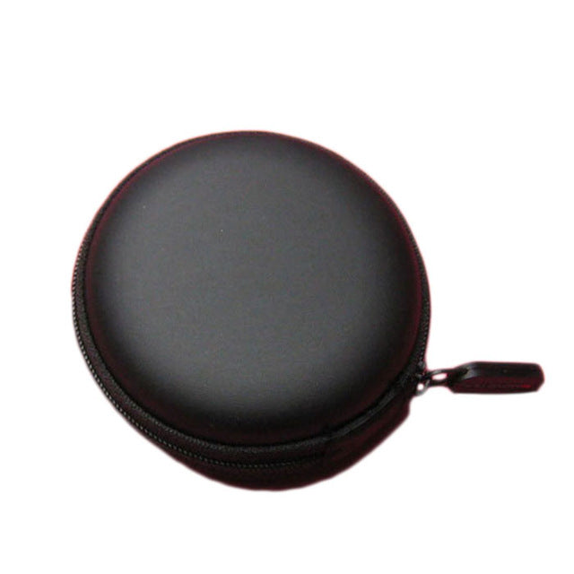 Round Mini Speaker with Storage Case
