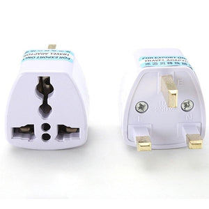USB Universal (US EU AU Converter to UK HK AC) Travel Power Plug Charger