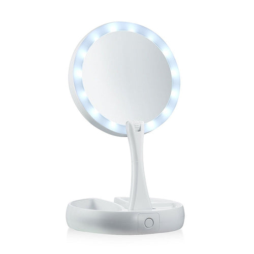 Standing Rotating USB LED Makeup Light
