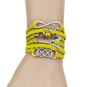 Infinity Women Bracelet Bangle Jewelry